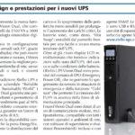 Comunicato Stampa Riello UPS
