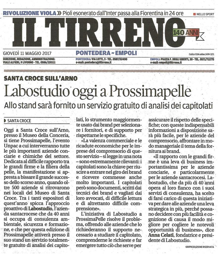 articolo Labostudio