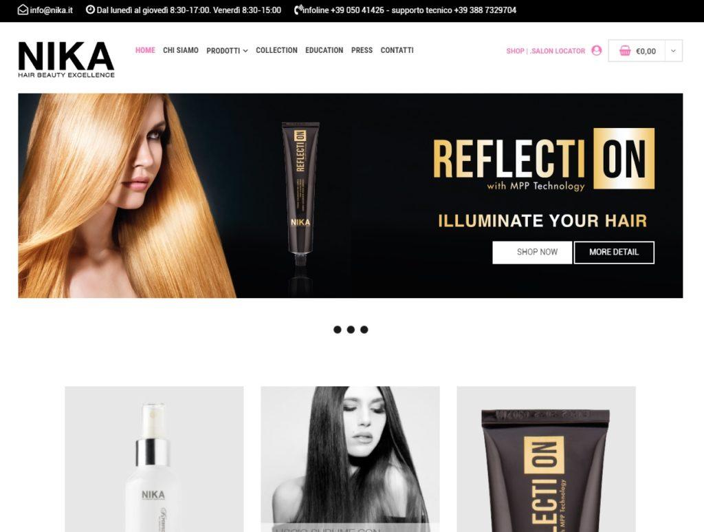 Nika nuovo sito
