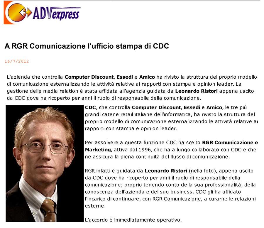 RGR CDC