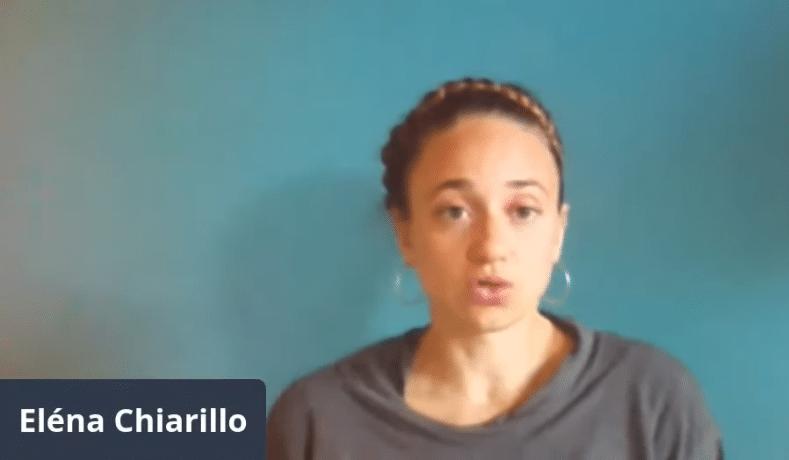 la dott.ssa Eléna Chiarillo