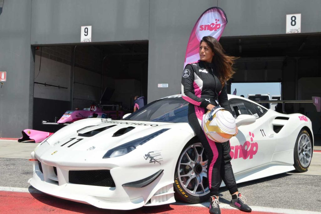 Vicky Piria sponsorizzata Snep
