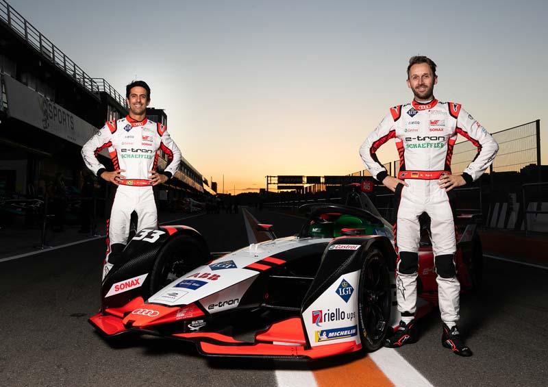 Audi Sport Formula E 2021 con Riello UPS