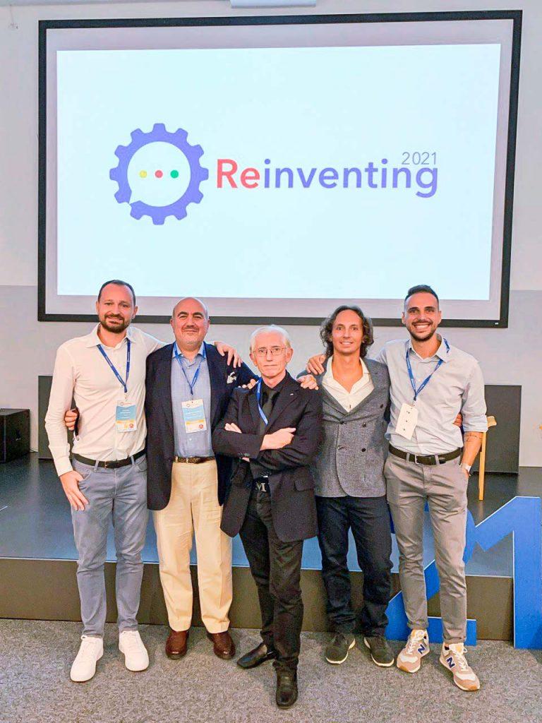 Reinventing 2021 Leonardo Ristori